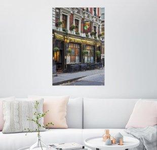 Posterlounge Wandbild - Brian Jannsen »Sherlock Holmes Pub, London«