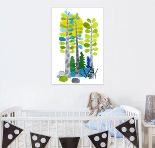Posterlounge Wandbild - Anne Vasko »Kleiner Wald«