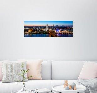 Posterlounge Wandbild - euregiophoto »Köln Skyline«