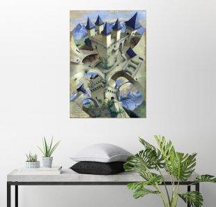 Posterlounge Wandbild - Irvine Peacock »Schloss der Illusion«