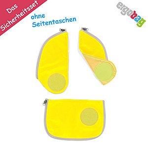 Ergobag Sicherheitsset für Cubo Schulrucksäcke, gelb