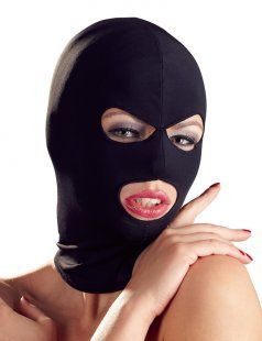Kopfmaske aus elastischem Stoff