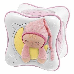 Chicco - Regenbogenprojektor, rosa