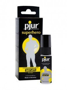 pjur Superhero Delay Serum (20ml)