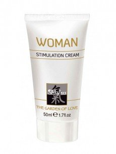 Shiatsu Stimulation Cream Woman (50ml)