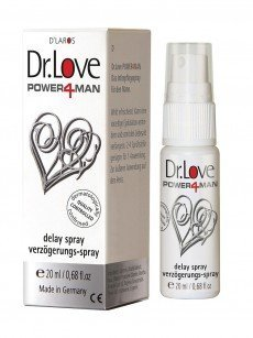 Dr. Love Power4Man: Verzögerungsspray (20ml)