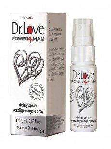 Dr. Love Power4Man: Verzögerungsspray (20ml)