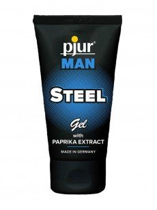 Massagegel: pjur Man Steel (50ml)