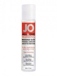 Gleit- und Massagegel: Jo AllinOne Warming (30ml)