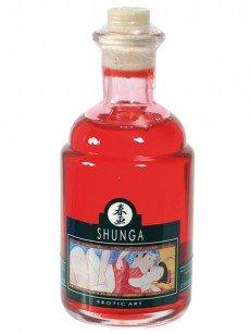 Shunga Kisses Massageöl: Cherry (100ml)