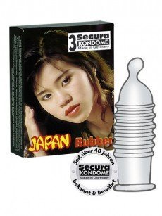 Secura Japan Rubber 3er Pack