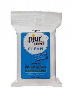 pjur med Clean Soft Fleece: Reinigungstücher, 25er Pack