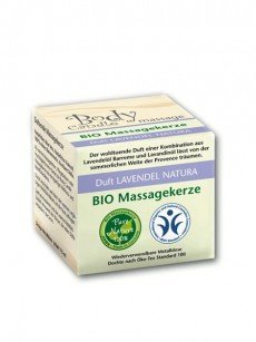 Bio Massagekerze: Lavendel Natura (115ml)