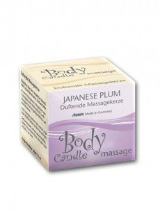 Body Candle Massagekerze: Japanese Plum (115ml)