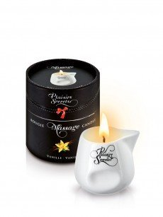 Plaisirs Secrets: Massagekerze, Vanilla (80ml)