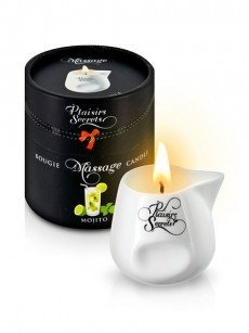 Plaisirs Secrets: Massagekerze Mojito (80ml)