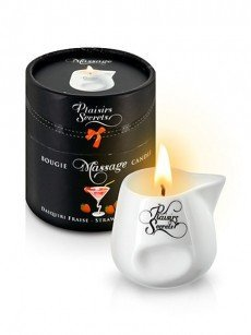 Plaisirs Secrets: Massagekerze Strawberry Daiquiri (80ml)