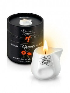 Plaisirs Secrets: Massagekerze Poppy (80ml)