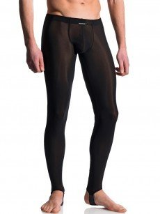 MANSTORE M101: Strapped Leggings, schwarz