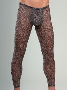 Body Art Zaki: Leggings, schwarz