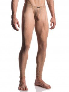 MANSTORE M664: Bungee Leggings, nude