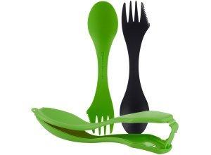 Spork ´n Case Essbesteck, Farbe green/black