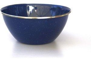 Relags Emaille Schüssel - Schüssel - blau