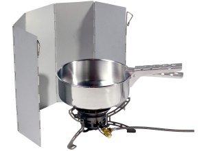Relags Faltwindschtz - Kocherzubehör - grau