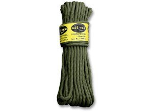Commando Seil 15 Meter oliv 5mm