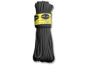 Commando Seil 15 Meter schwarz 5mm
