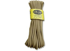 Commando Seil 15 Meter sand 7mm