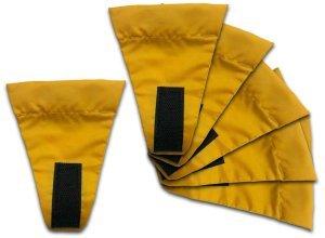 Wechsel Guy Line Flags - Zeltzubehör - Gr. 11 cm x 9 cm - Zeltleine - gelb - 2 g