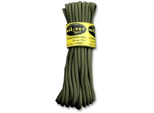 Commando Seil 15 Meter oliv 7mm