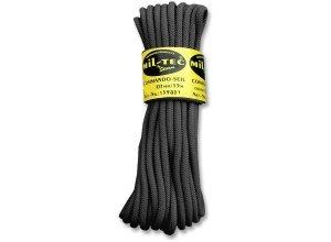 Commando Seil 15 Meter schwarz 7mm