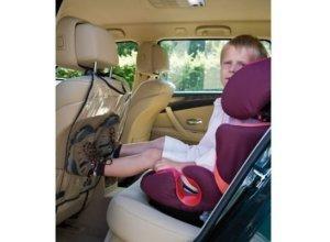 Alvi Auto Rückenlehnenschutz, lila