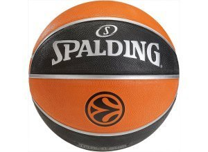 SPALDING Euroleague TF 150 Outdoor Basketball, braun