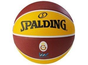 SPALDING EL Team Galatasaray Istanbul Basketball, gelb