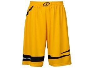 SPALDING Logo 2.0 Shorts Kinder, gelb