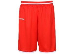 Spalding Move Shorts Kinder, rot
