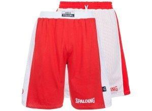 SPALDING Essential Reversible Basketballshort Kinder, rot