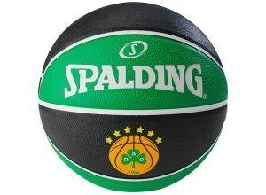 SPALDING EL Team Panathinaikos Athen Basketball, schwarz