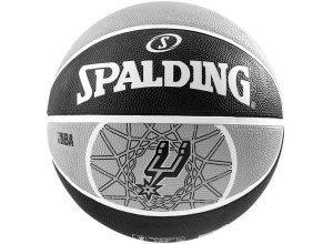 SPALDING Team Ball San Antonio Spurs Basketball, grau