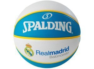 SPALDING EL Team Real Madrid Basketball, blau