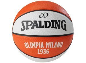 SPALDING EL Team Olimpia Milano Basketball, weiß