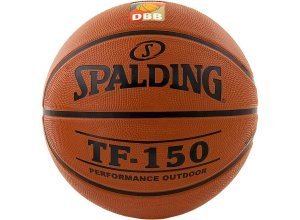 SPALDING TF150 DBB Outdoor Basketball, braun