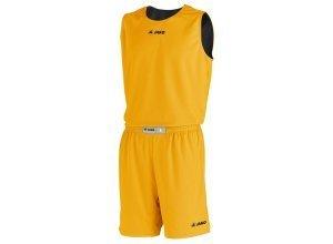 Jako Basketball Wendeshort Change Kinder, gelb