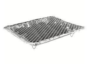 Einweggrill (22x27, Aluminium)