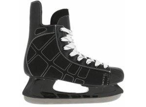 Eishockey-Schlittschuhe Zero Kinder schwarz