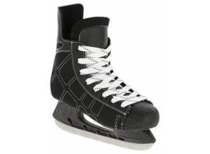 Eishockey-Schlittschuhe Zero Erwachsene schwarz