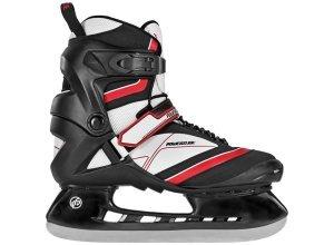 Schlittschuh Herren, schwarz-rot, »Thunder Hockey Skate«, Powerslide, schwarz